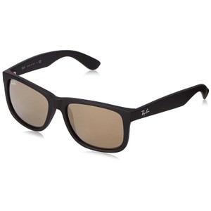 Ray-Ban Ray-Ban Black/Brown Sunglasses 55mm RB4165