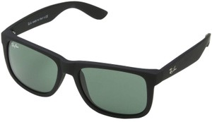 Ray-Ban Ray-Ban Black/Green Sunglasses 55mm RB4165