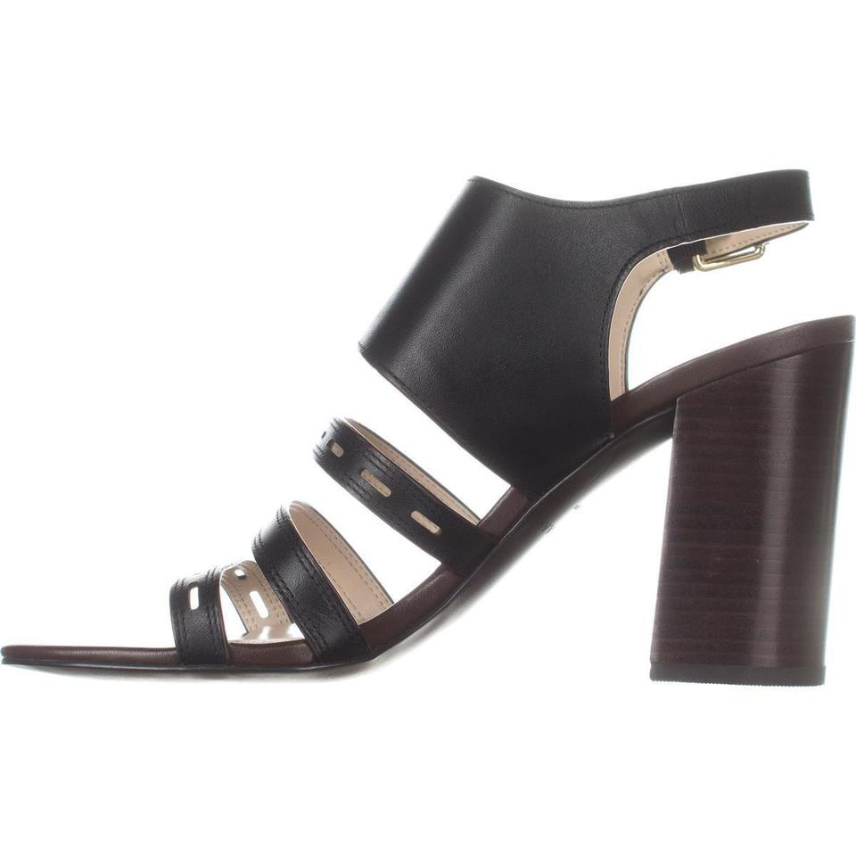 Heel Pumps Cole Black Leather Lavelle Haan High Sandals SCRHwq1Ax