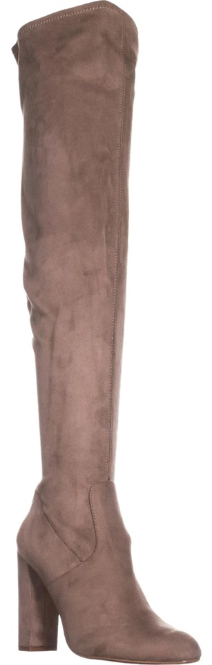 Steve Madden Beige Emotions Taupe Over The Knee Taupe Emotions Boots/Booties b98b85