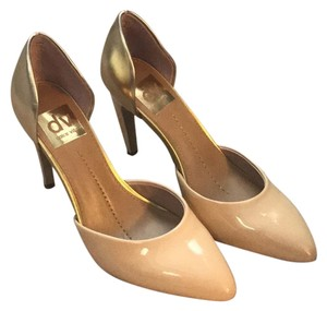 Dolce Vita nude gold Pumps