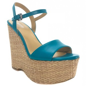 Michael Kors Jill Turquoise Wedges