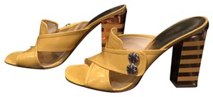 Marc by Marc Jacobs Yellow Mules