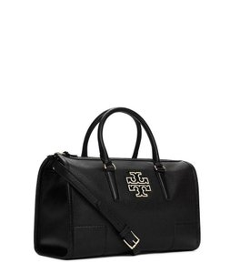 Tory Burch Britten Britten Satchel in Black