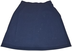Salvatore Ferragamo Mini Skirt navy