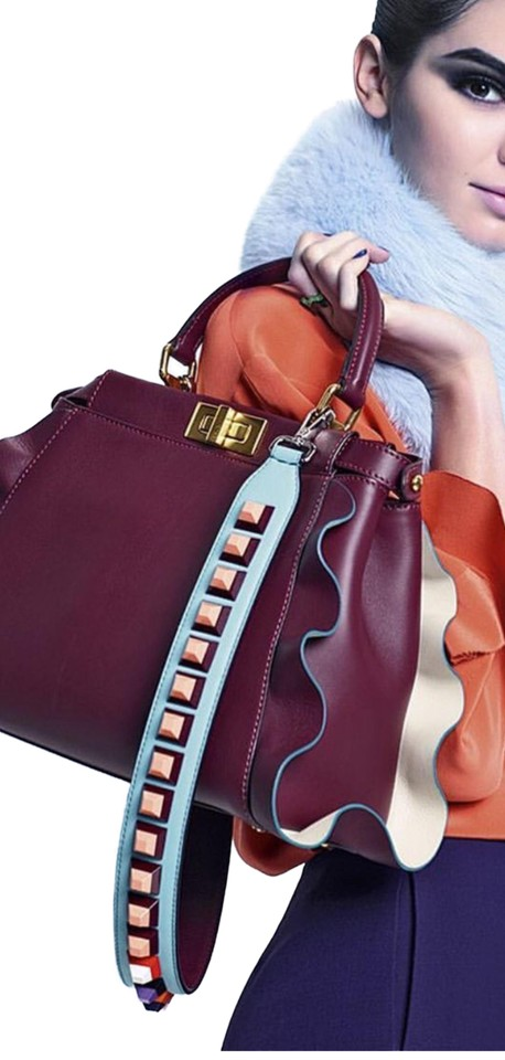 0b6f5286 Fendi _bag_not_included_ Strap You Multicolor Leather/Plastic Cross Body  Bag 45% off retail