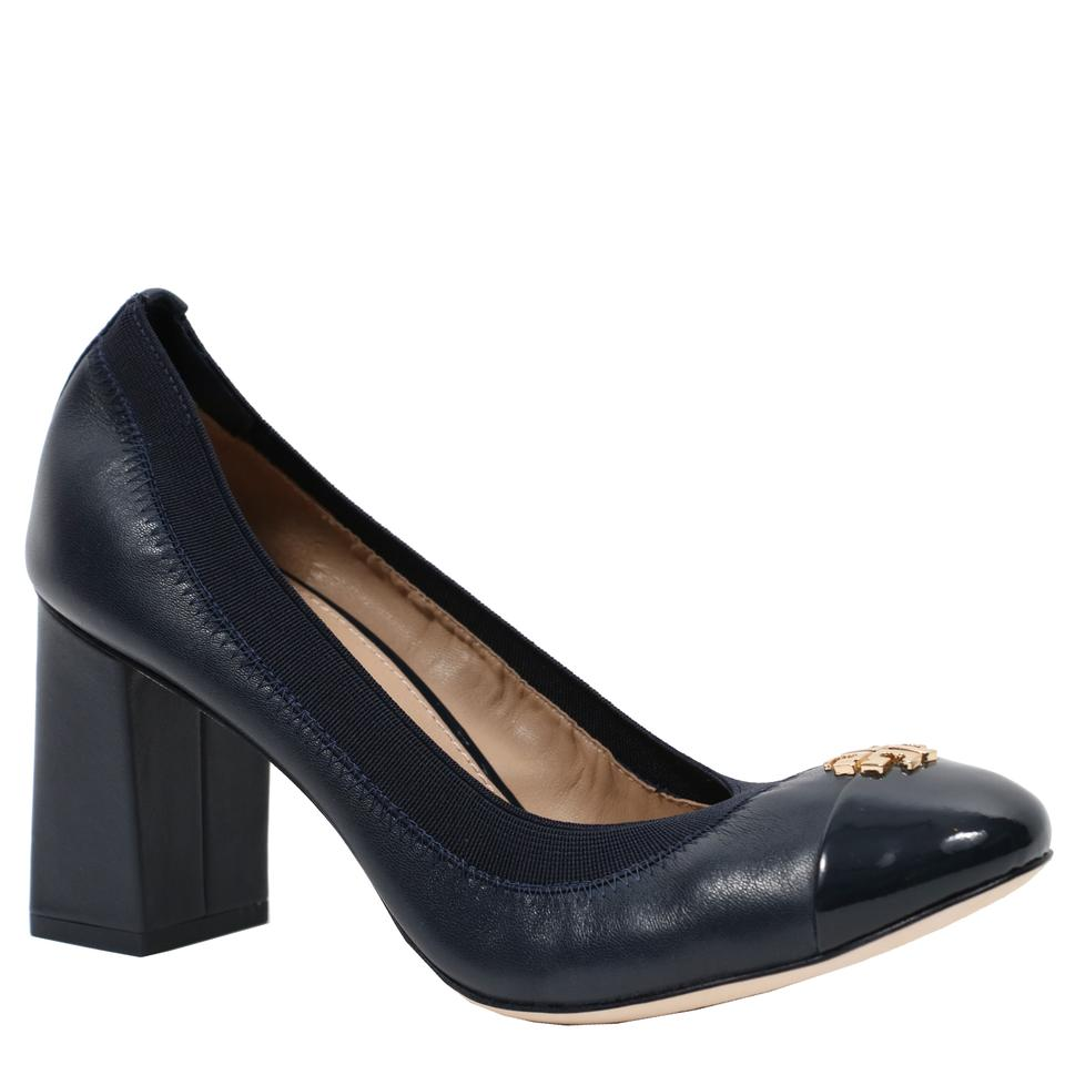 75mm Leather Pumps Perfect Navy Burch Jolie Tory qwvagZxa