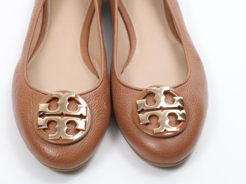6f2fb79deee2 ... Flats Leather Ballet Royal Tan Burch Tumbled Tory Claire wq04nYC ...
