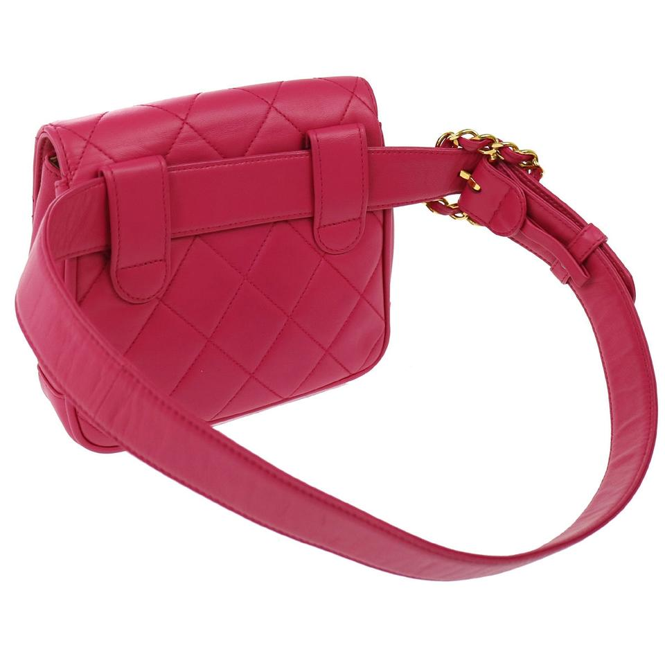 fa3636e8b4ddde Chanel Waist Bum bag Excellent Condition Rare Quilted Fanny Pack ...