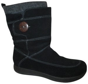 Easy Spirit Leather Suede Winter black Boots