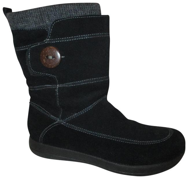 Item - Black Suede Boots/Booties Size US 8 Regular (M, B)