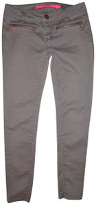 Tinseltown Pants Jegging Stretch Low Rise Skinny Jeans-Light Wash