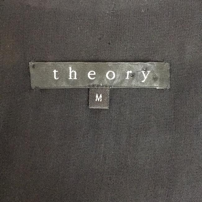 Theory Black Ostrich Feather Vest Size 8 (M) Theory Black Ostrich Feather Vest Size 8 (M) Image 3