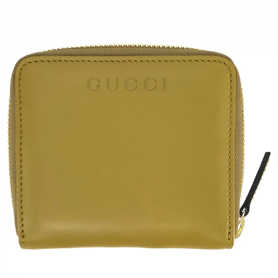 c18af7d97a19 Gucci Light Green 346056 Leather French Zip Wallet - Tradesy