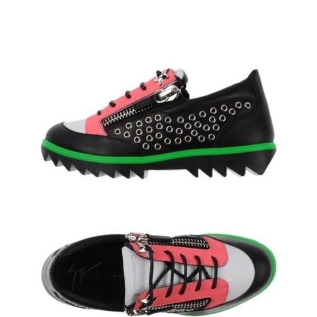 Item - Black White Green Pink New Toky Sc Donna Sneakers Size EU 40.5 (Approx. US 10.5) Regular (M, B)