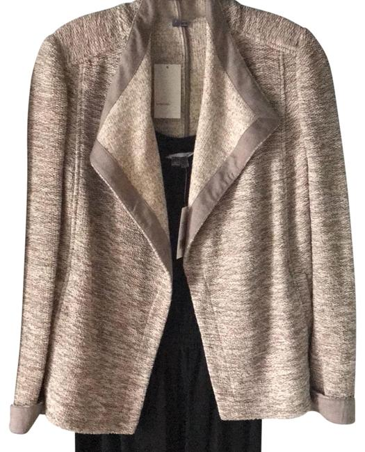 Item - Grey and Taupe Jacket Size 6 (S)