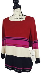 Josephine Chaus Striped Sweater