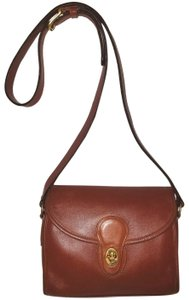 Coach Refurbished Leather Cross Body Bag