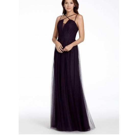 Preload https://img-static.tradesy.com/item/23810595/hayley-paige-plum-tulle-5706-feminine-bridesmaidmob-dress-size-10-m-0-0-540-540.jpg