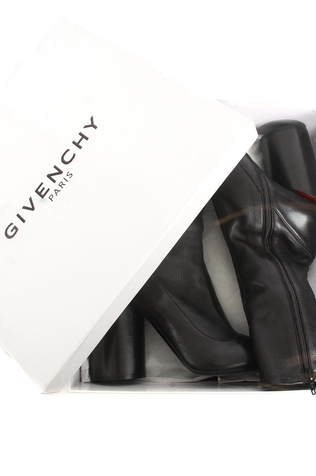 Black Black Booties Boots Givenchy Black Leather Givenchy Givenchy Leather Booties Boots 6WBaq4