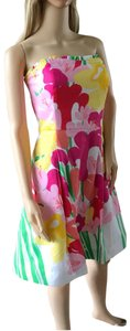 Lilly Pulitzer short dress Red Yellow on Tradesy