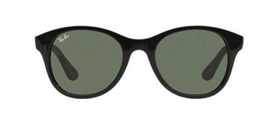 1fa755a1df73c Ray-Ban Black New Unisex Round Rb4203 601 Green Classic Lens Sunglasses