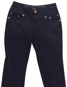 Christopher Blue Capri/Cropped Denim-Dark Rinse