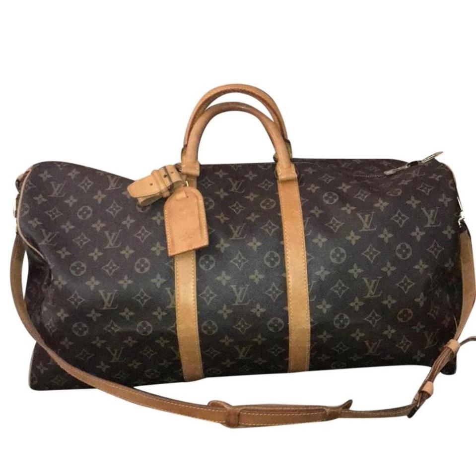 e854c08d7f91 Louis Vuitton Keepall Duffle Great Condition 55 Bandouliere Lv ...