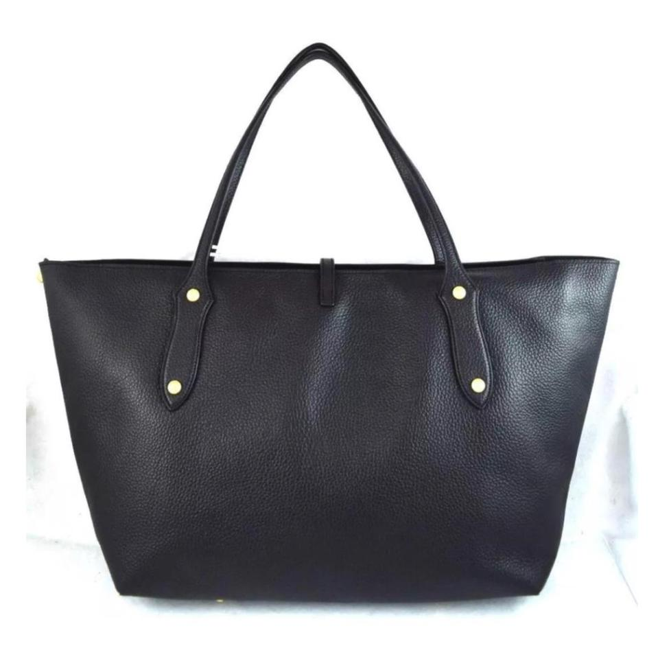 Annabel Black Tote Large Ingall Pebbled Isabella Leather qq6pH7