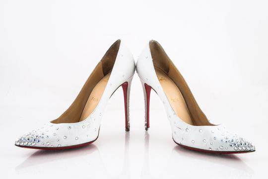 Christian Louboutin White Pumps Image 9
