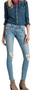 Lucky Brand Skinny Jeans-Distressed