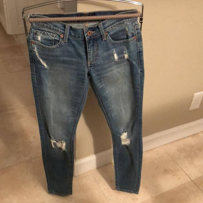 Lucky Brand Skinny Jeans-Distressed Image 1