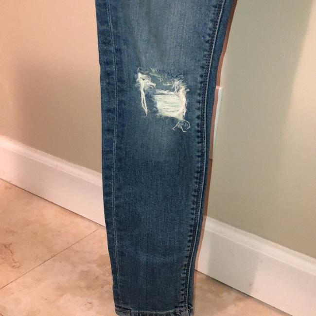 Lucky Brand Skinny Jeans-Distressed Image 3