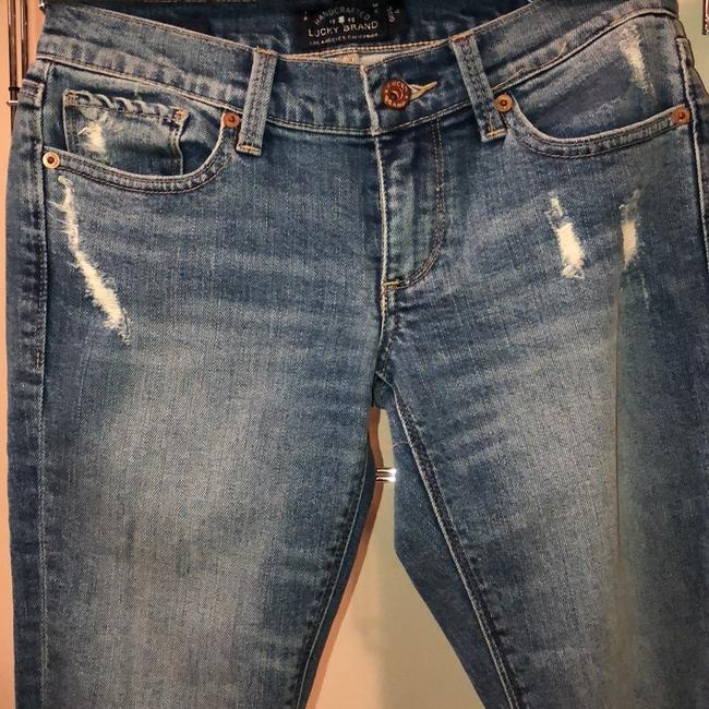 Lucky Brand Skinny Jeans-Distressed Image 5