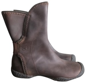 Keen Winter Leather Brown Boots
