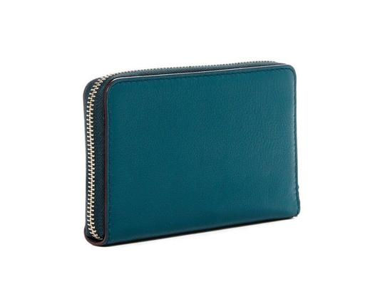 Marc Jacobs Recruit Chipped Studded Phone Pocket Ip Around Wristlet in Blue Teal Image 1