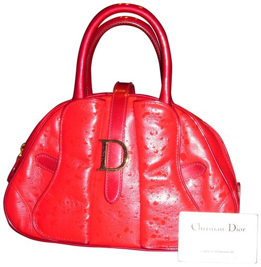 Preload https://img-static.tradesy.com/item/23812192/dior-buckle-double-saddle-bowler-red-calfskin-leather-and-patent-leather-trim-and-handles-tote-0-1-540-540.jpg