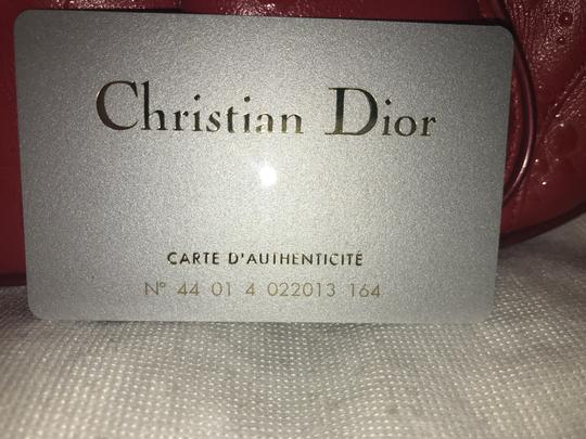 Dior Tote in red Image 2