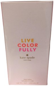 Kate Spade KATE SPADE LIVE COLOR FULLY BODY/LOTION 200 ML/6.8 OZ,NEW.
