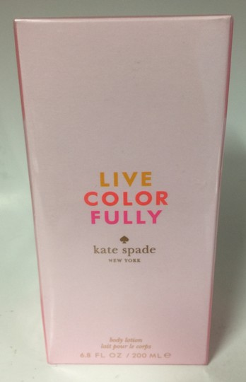 Kate Spade KATE SPADE LIVE COLOR FULLY BODY/LOTION 200 ML/6.8 OZ,NEW. Image 2