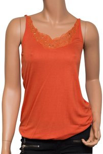 Calypso St. Barth Embroidered Top coral