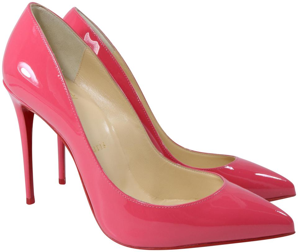 0575fd19196 Christian Louboutin Begonia Pink Pigalle Follies Patent 100mm A822 Pumps  Size EU 36 (Approx. US 6) Regular (M, B) 30% off retail