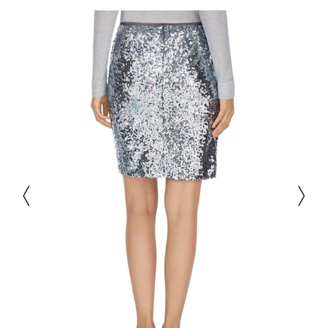 White House | Black Market Mini Skirt Silver Image 2