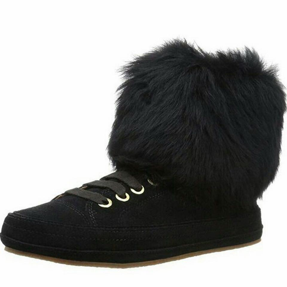 0688a5d4111 UGG Australia Black Antoine Fur Fashion Sneaker Boots/Booties Size US 6  Regular (M, B) 60% off retail