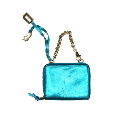 Preload https://img-static.tradesy.com/item/23812555/dolce-and-gabbana-metallic-blue-vintage-small-zip-with-wristlet-wallet-0-1-540-540.jpg
