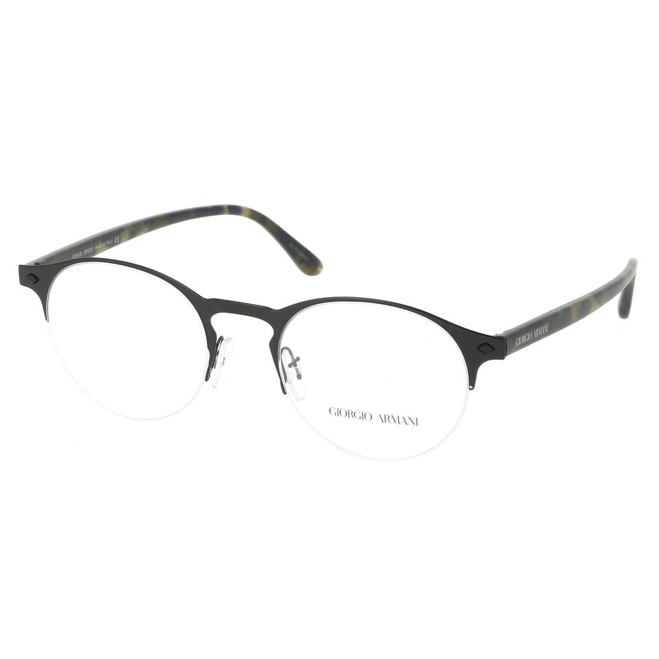 d26991fc7526 Giorgio Armani 3001 Satin Black and Matt Havana Brown Ar5064 Eyewear Frames  Eyeglasses Rx Optical Glasse