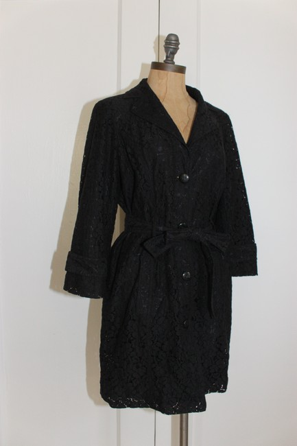Other Janie Bryant Lace Trench Coat Image 3