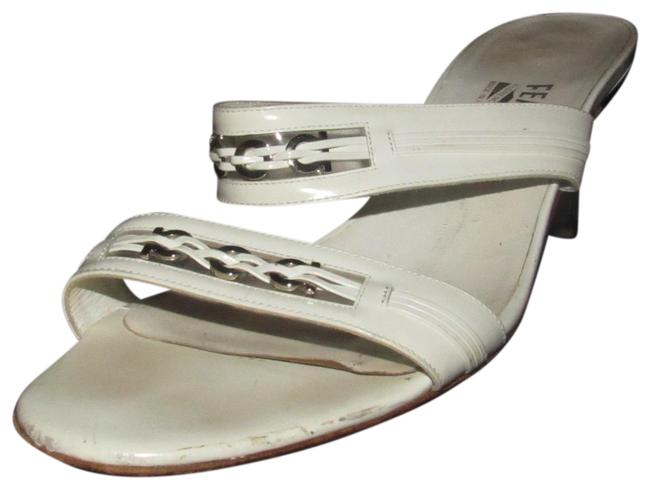 Item - Taupe Leather with Gold Leather Trim Shoes/Designer Sandals Size US 10 Regular (M, B)