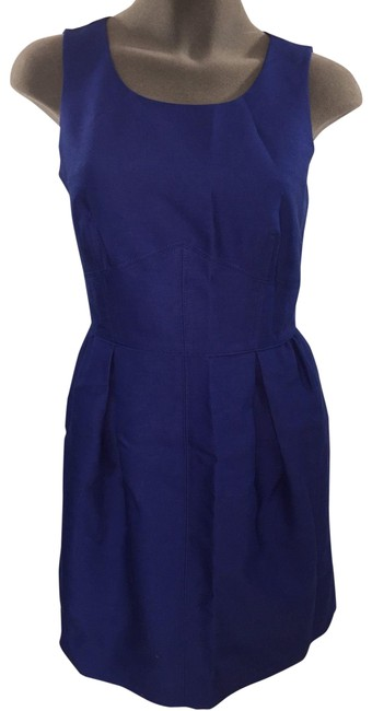 Preload https://img-static.tradesy.com/item/23812988/jcrew-royal-blue-euc-party-career-short-cocktail-dress-size-4-s-0-1-650-650.jpg