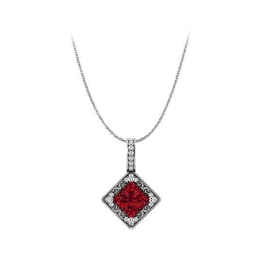 Preload https://img-static.tradesy.com/item/23812995/red-free-chain-with-ravishing-square-ruby-and-cz-pendant-necklace-0-0-540-540.jpg